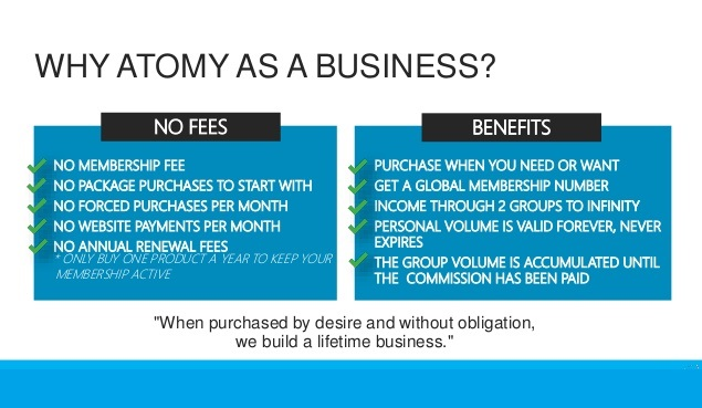 why Atomy- Atomy English